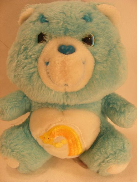 "VINTAGE 6"" WISH CARE BEAR"
